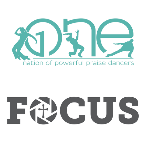 One Nation of Powerful Praise Dancers + Focus - Logo/Branding
