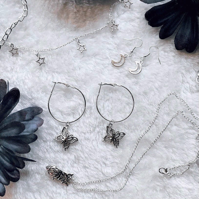 artemis silver plated gothic grunge accessories jewellery bohemian boho inspired