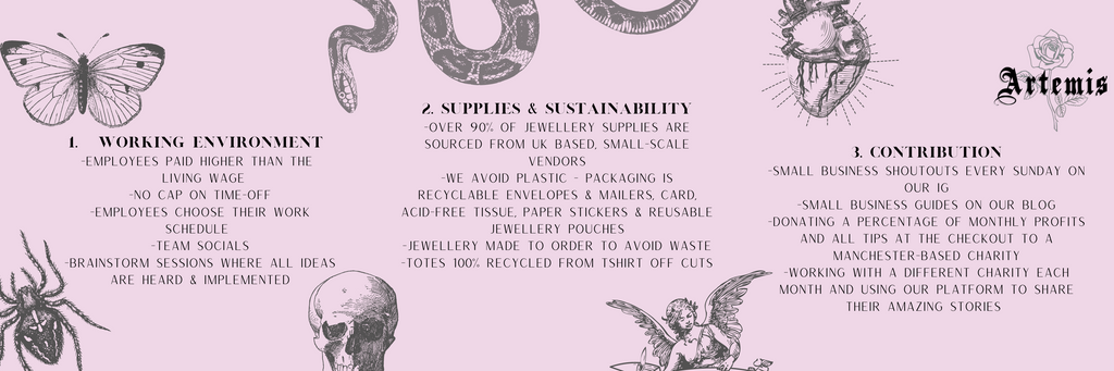 charity contribution ethical our ethics manchester salford ethical sustainable eco friendly support best female led feminism equality empowerment entrepreneur wage salary fairness moral ethical sustainable small business inspiring inspirational innovative happiness self development
