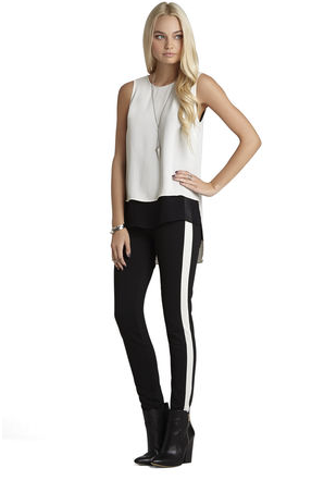 BCBGeneration Black/White Pant