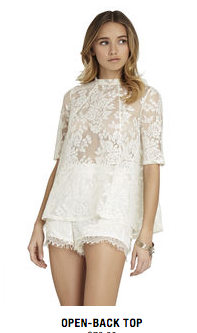 BCBGeneration Whsprwhite Top