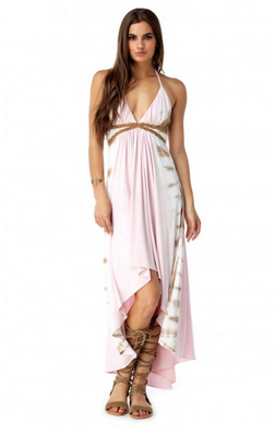 Sky - Tie Dye Maxi Dress Hakim