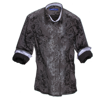 Georg Roth Blk/Gray Shirt