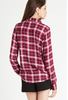 BCBGeneration Long Sleeve Button up - Crushberry