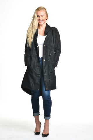 209 West Long Jacket Black