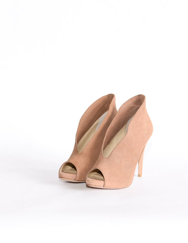 Pelle Moda Kid Suede in Taupe
