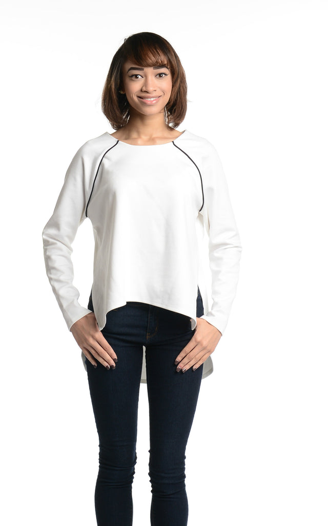 French Connection Cora White Sweater