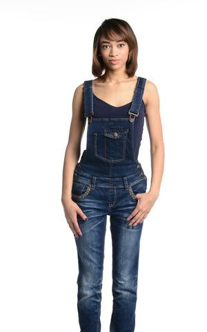 Grace Overalls Denim