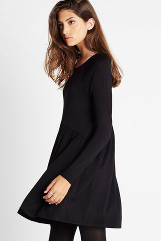 BCBGeneration Black L/S Knit Dress