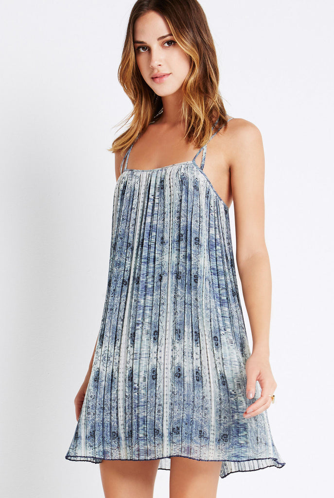 BCBGeneration - Strappy Pleated Dress