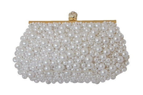 Rockwell Tharp Clutch - White Pearl