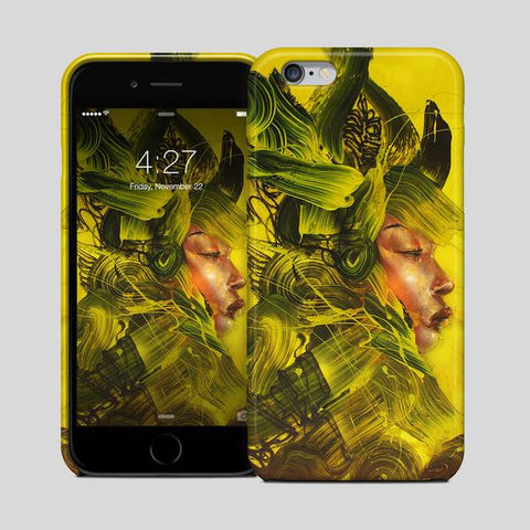 Yellow Armor iPhone Case