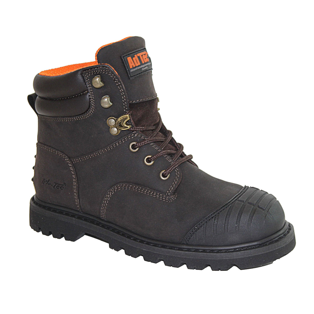 "1018 Men's 6"" Brown Work Boot"