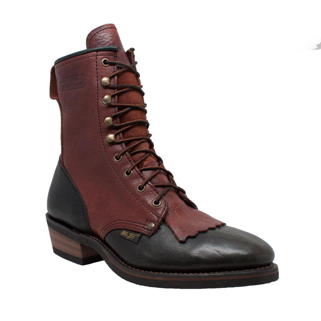 "1179 Men's 9"" Chestnut/Black Packer"