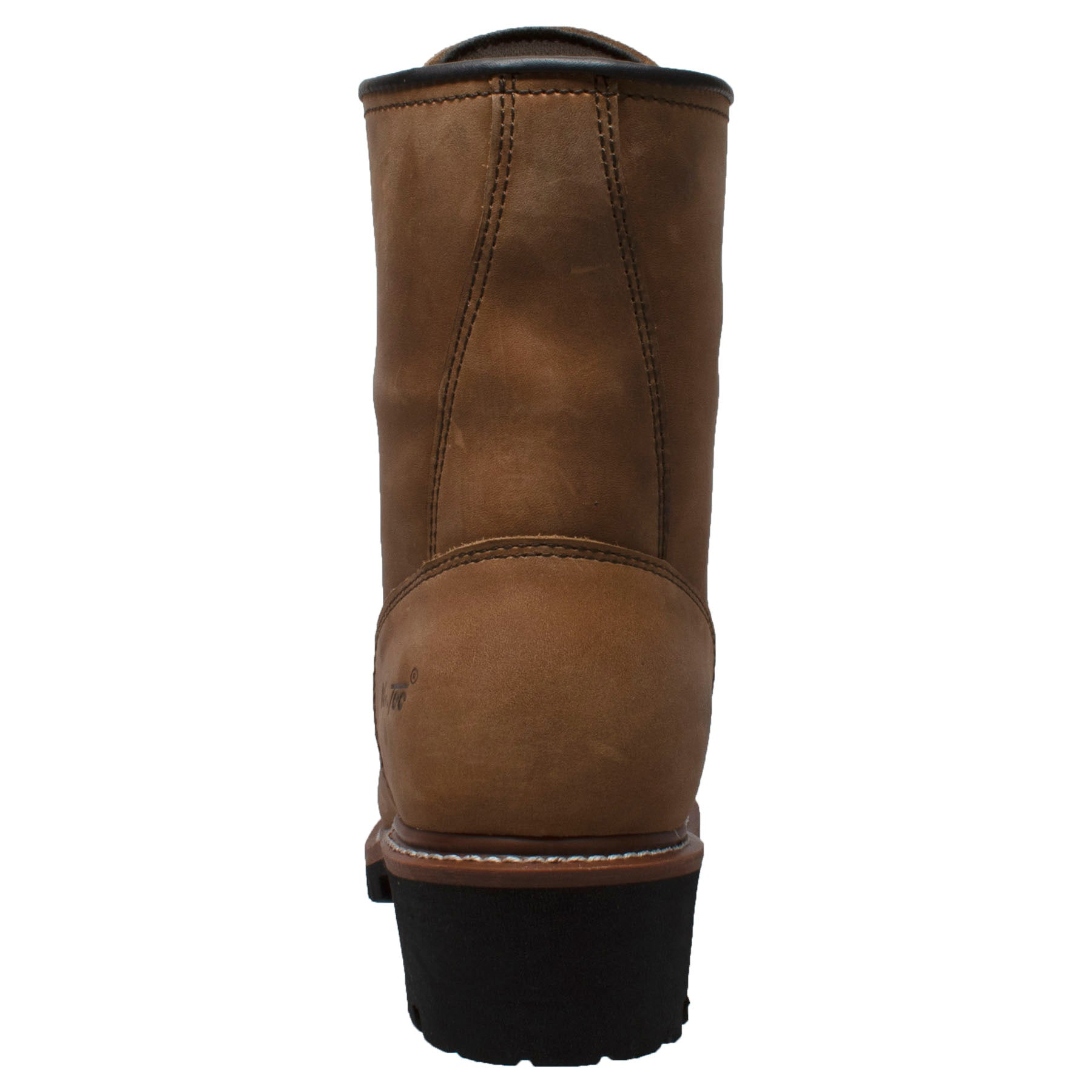 "Men's 9"" Waterproof Logger Brown - 1427WP - Shop Genuine Leather men & women's boots online 