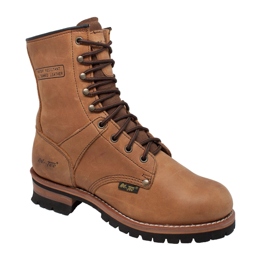 "1427 Men's 9"" Brown Logger"