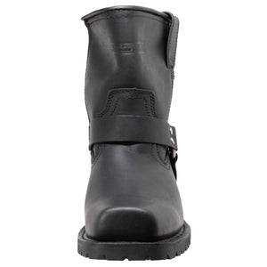 "Men's 7"" Side Zipper Harness Boot - 1436 - Shop Genuine Leather men & women's boots online 
