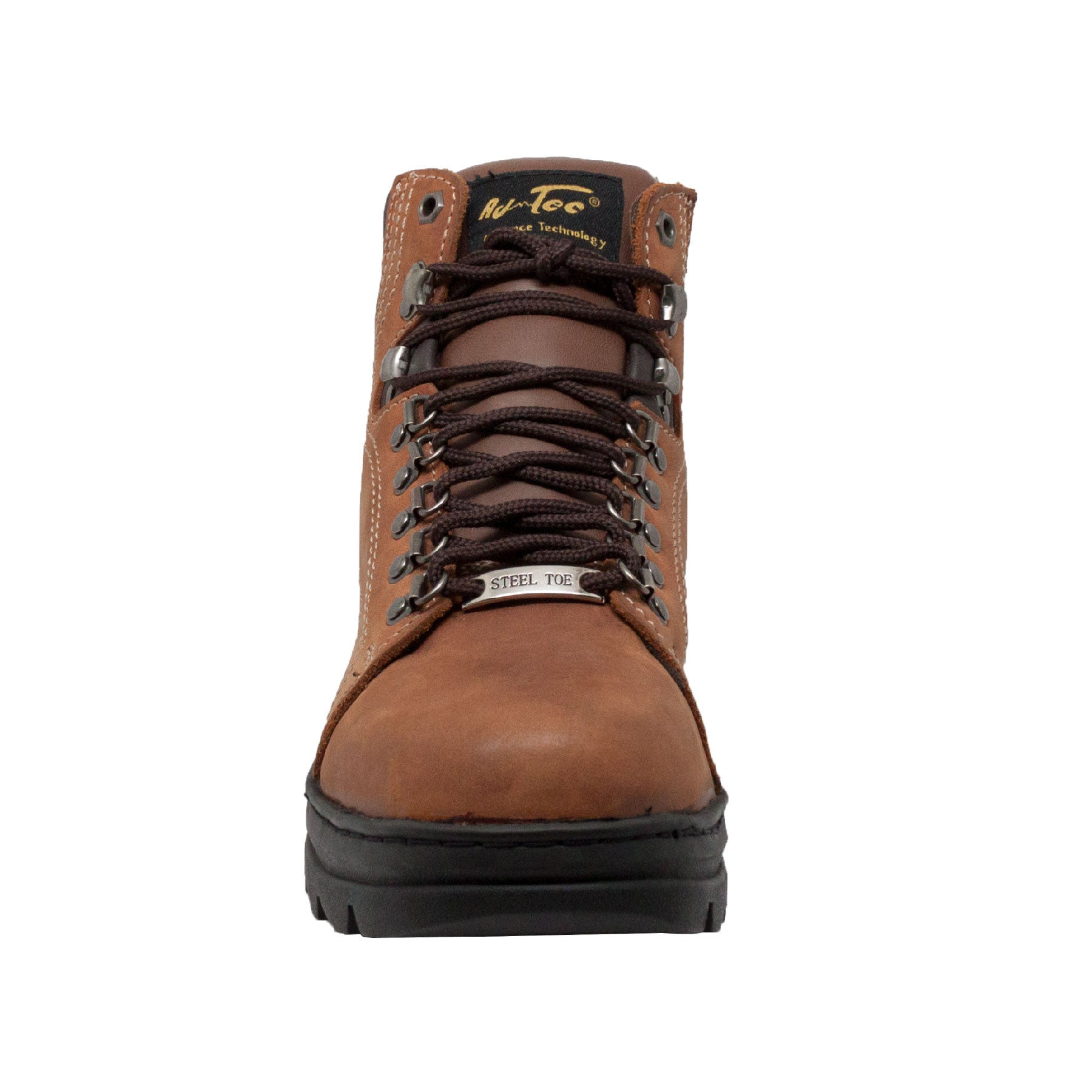 "Men's 6"" Brown Steel Toe Hiker - 1977 - Shop Genuine Leather men & women's boots online 