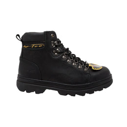 "Men's 6"" Black Steel Toe Hiker - 1980 - Shop Genuine Leather men & women's boots online 