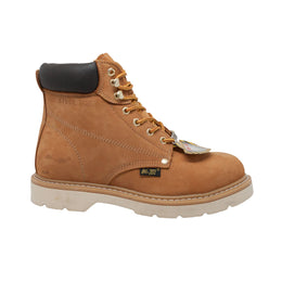 Men's Steel Toe Work Boot Tan - 1982 - Shop Genuine Leather men & women's boots online | AdTecFootWear