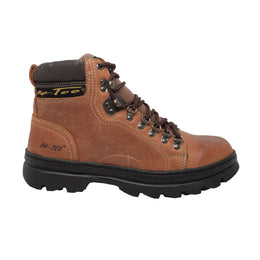 "Men's 6"" Hiker Brown - 1987 - Shop Genuine Leather men & women's boots online 