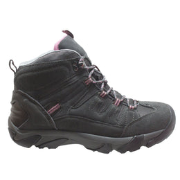 Women's Composite Toe Work Hiker Grey/Pink - 2010C - Shop Genuine Leather men & women's boots online | AdTecFootWear