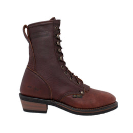 "Women's 8"" Chestnut Packer - 2173 - Shop Genuine Leather men & women's boots online 