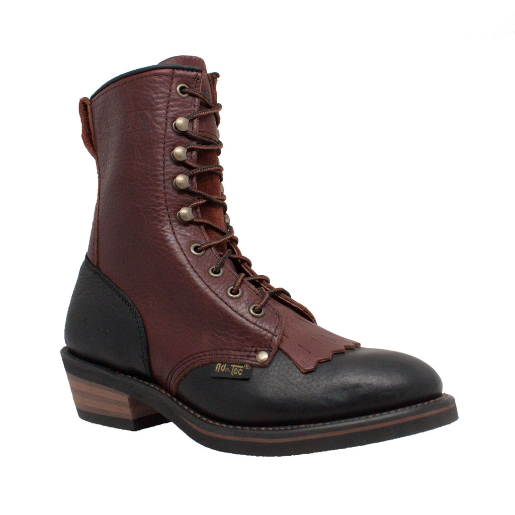 "2179 Women's 8"" Black/Dark Cherry Packer"