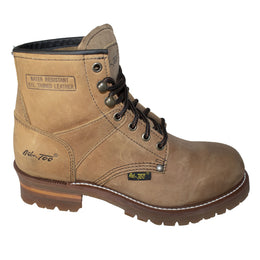 "Women 6"" Logger, Brown - 2427L - Shop Genuine Leather men & women's boots online 