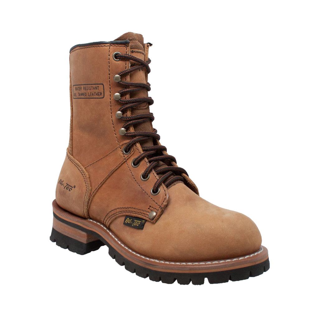 "2427 Women's Brown 9"" Logger"