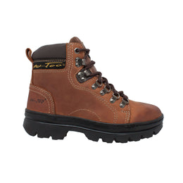 "Women's 6"" Work Hiker Brown - 2987 - Shop Genuine Leather men & women's boots online 