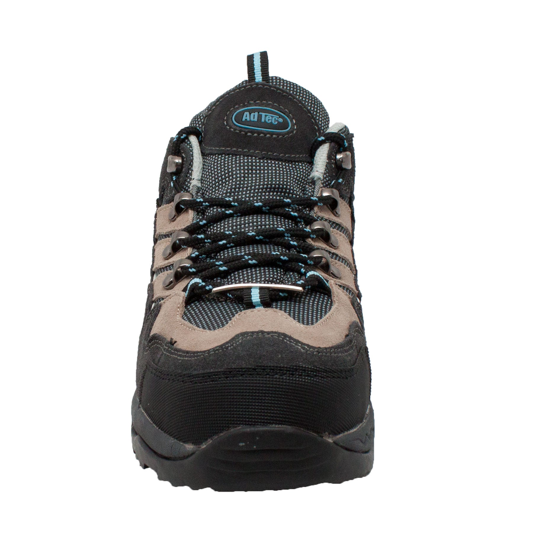 Women's Leather Low Cut Steel Toe Hiker Black - 8418 - Shop Genuine Leather men & women's boots online | AdTecFootWear