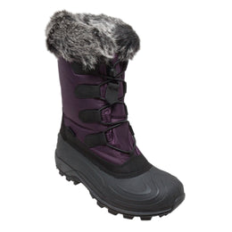 Women's Nylon Winter Boots Purple - 8780-PR - Shop Genuine Leather men & women's boots online | AdTecFootWear