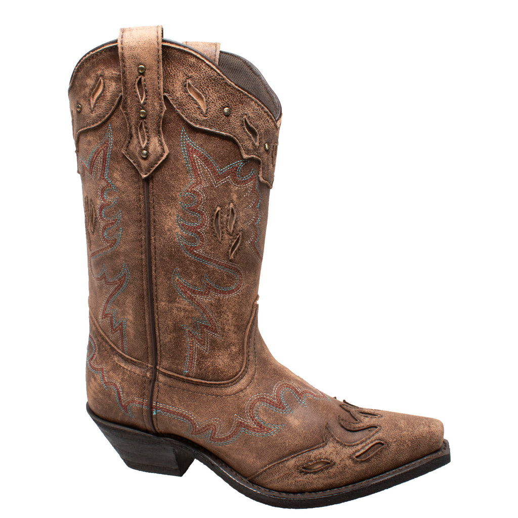 "Women 11""  Point Toe Western Boots - 8879 - Shop Genuine Leather men & women's boots online 