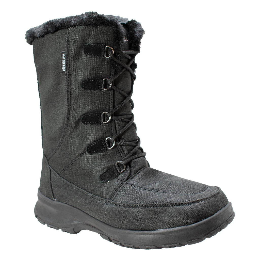 Womens Waterproof Nylon Winter Boot - Shop Genuine Leather men & women's boots online | AdTecFootWear