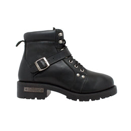 Men's Lace Zipper Boot - 9143 - Shop Genuine Leather men & women's boots online | AdTecFootWear