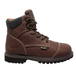 "Men's 6""  Light Brown Comfort Work Boot - Shop Genuine Leather men & women's boots online 