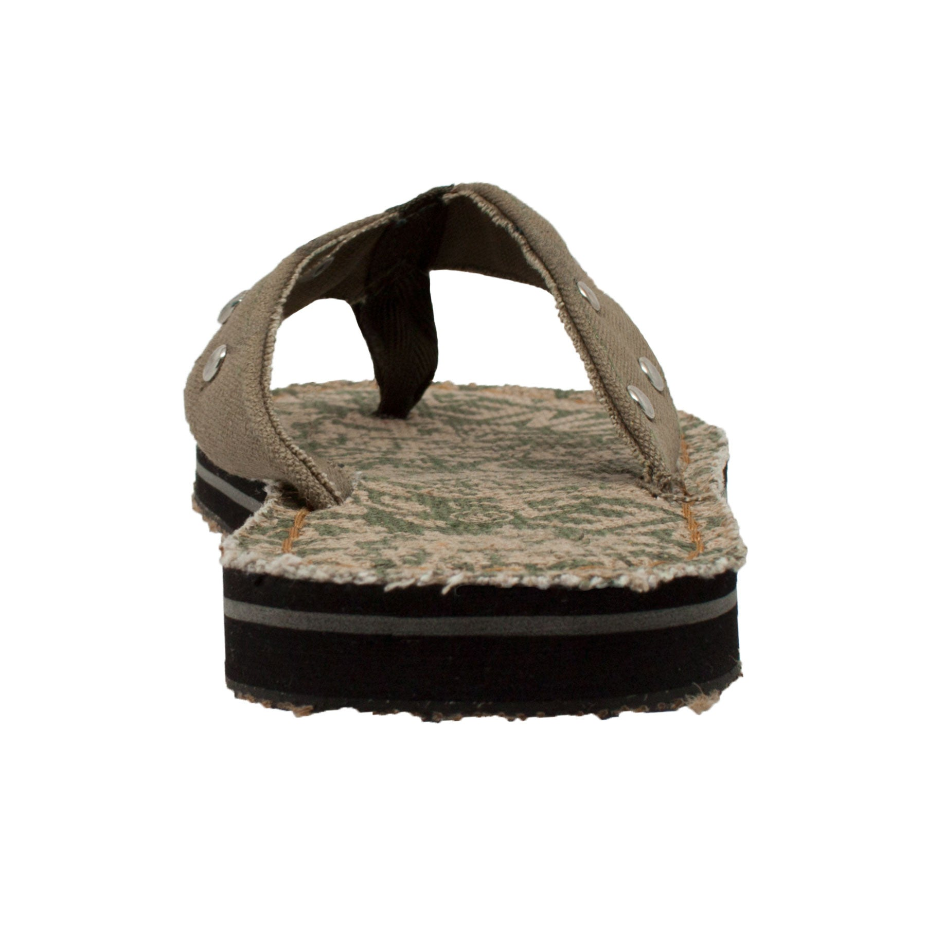 Men's Thong Sandal Olive - 9452 - Shop Genuine Leather men & women's boots online | AdTecFootWear