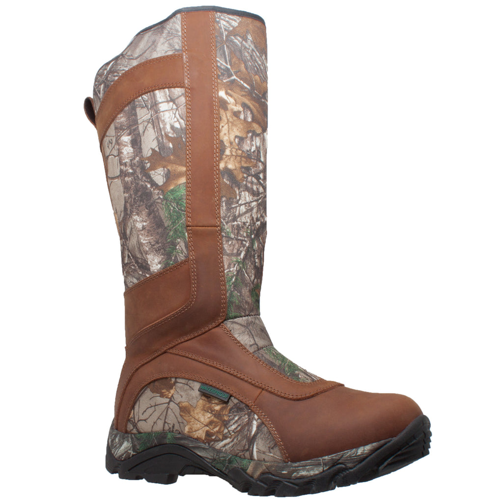 "9628 Men's 15"" Snake Bite Boot Camo Brown"