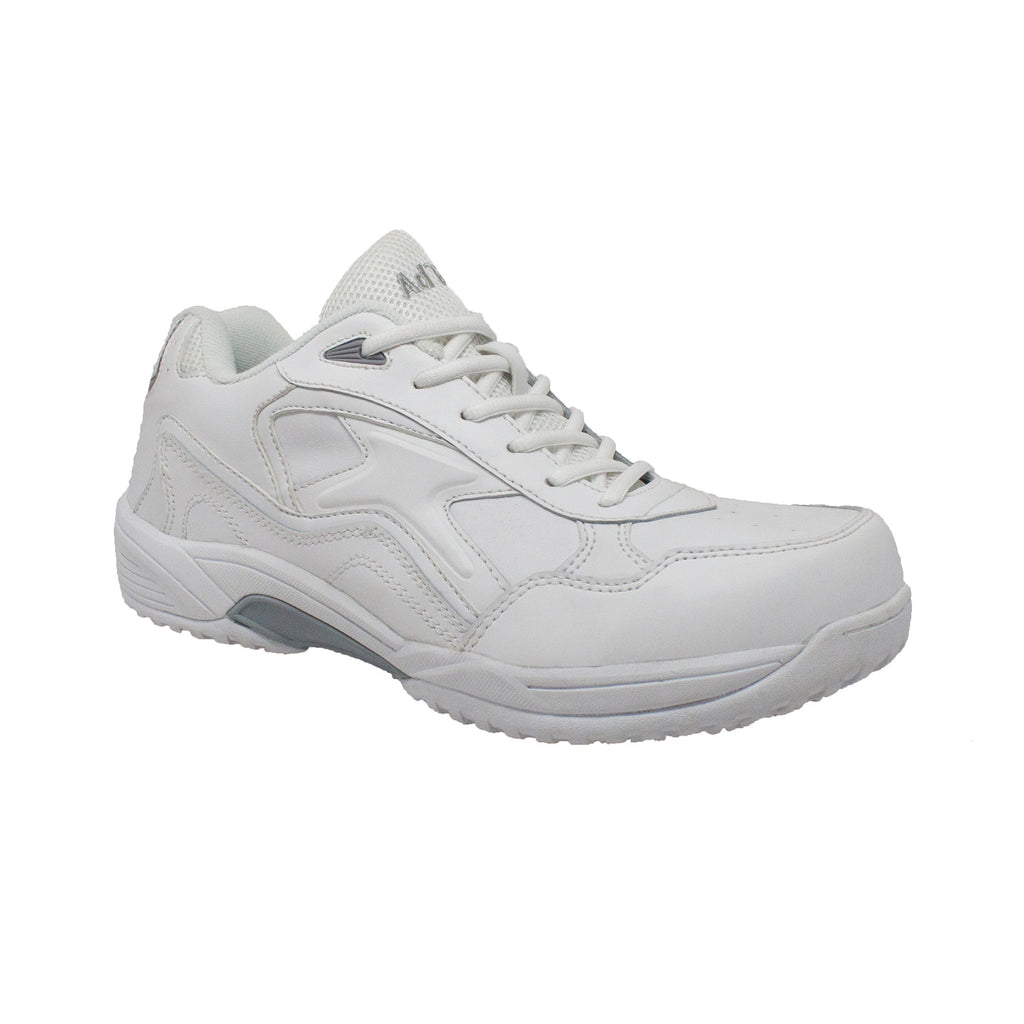 9632 Men's Uniform Athletic Lace Up White
