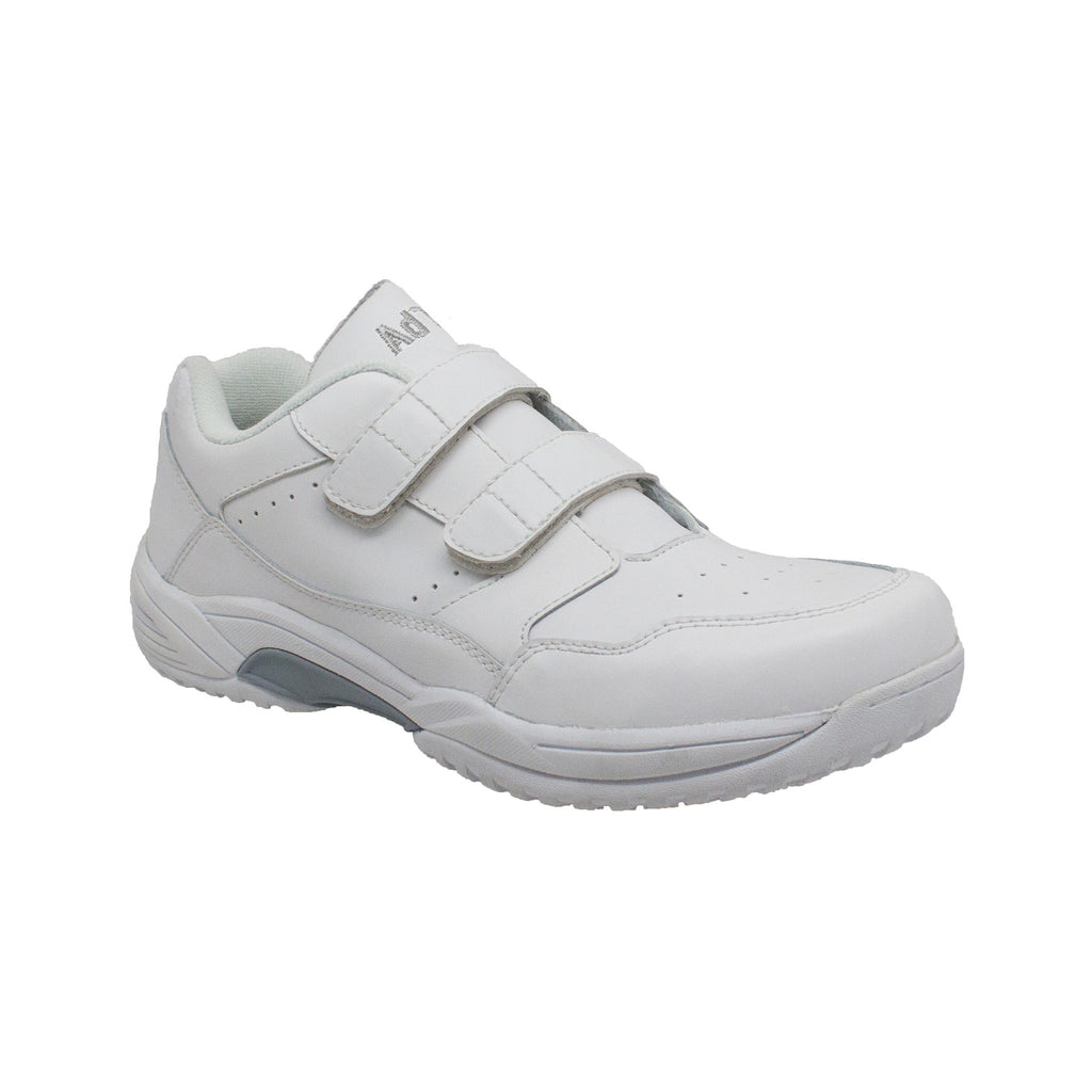 9633 Men's Uniform Athletic Velcro White