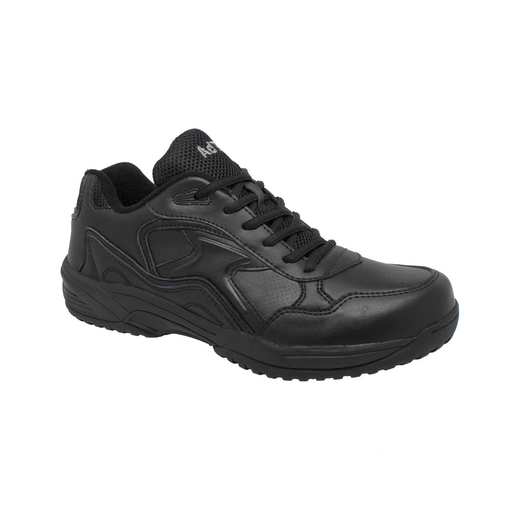 9634 Men's Uniform Athletic Lace Up Black