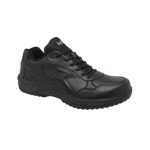 Men's Uniform Athletic Lace Up Black - 9634 - Shop Genuine Leather men & women's boots online | AdTecFootWear