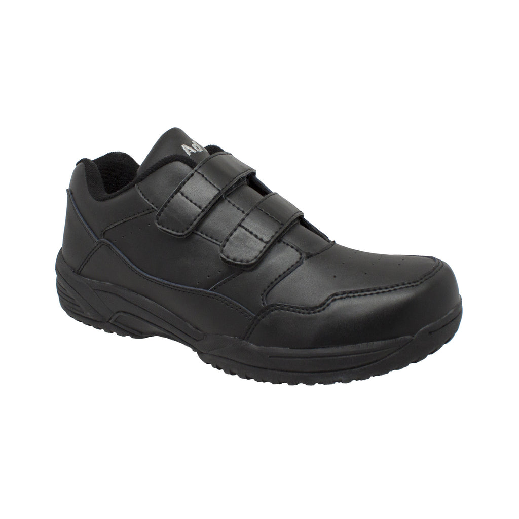 9635 Men's Uniform Athletic Velcro Black