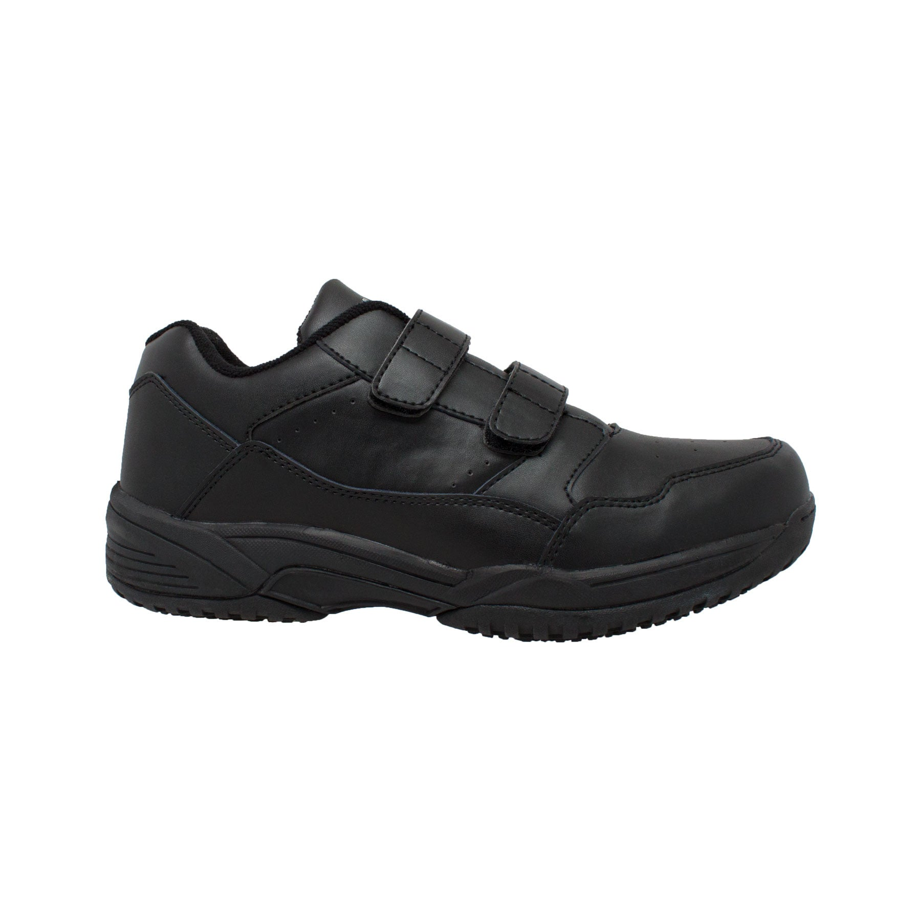Men's Uniform Athletic Velcro Black - 9635 - Shop Genuine Leather men & women's boots online | AdTecFootWear