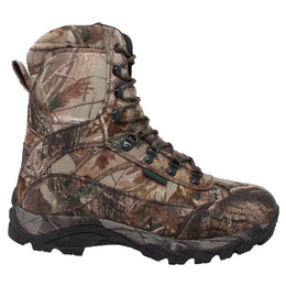 "Men's 800g 10"" Real Tree Tan Camo Waterproof Hunting Boot - 9638 - Shop Genuine Leather men & women's boots online 