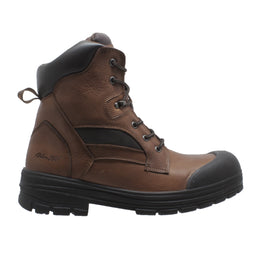 "Men's 8"" Composite Toe Waterproof Work Boot Brown - 9679 - Shop Genuine Leather men & women's boots online 