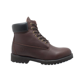 "Men's 6"" Work Boot Brown - 9680 - Shop Genuine Leather men & women's boots online 
