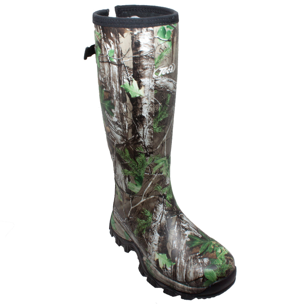 "9733 Men's 17"" RealTree Camo Green Rubber Boot"