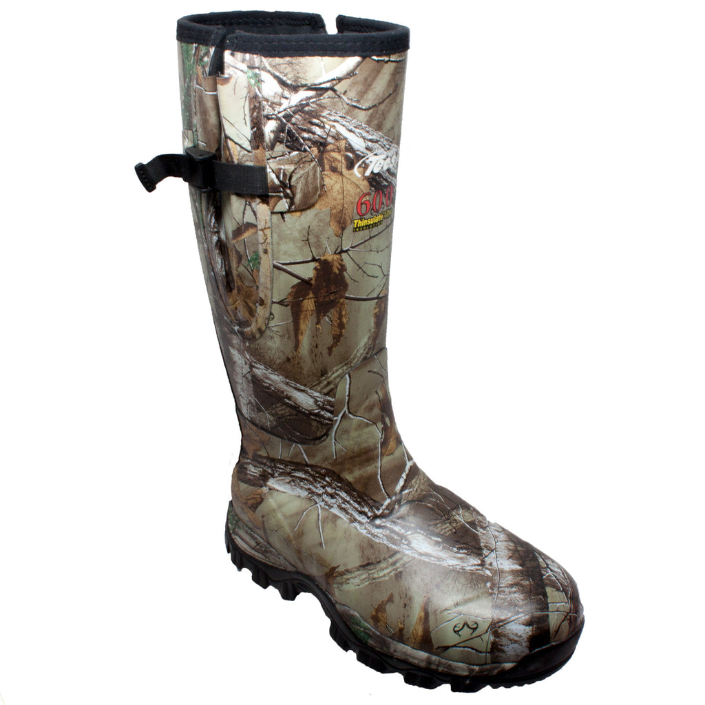 "9734 Men's 17"" Rubber Side Zip Boot Camo"